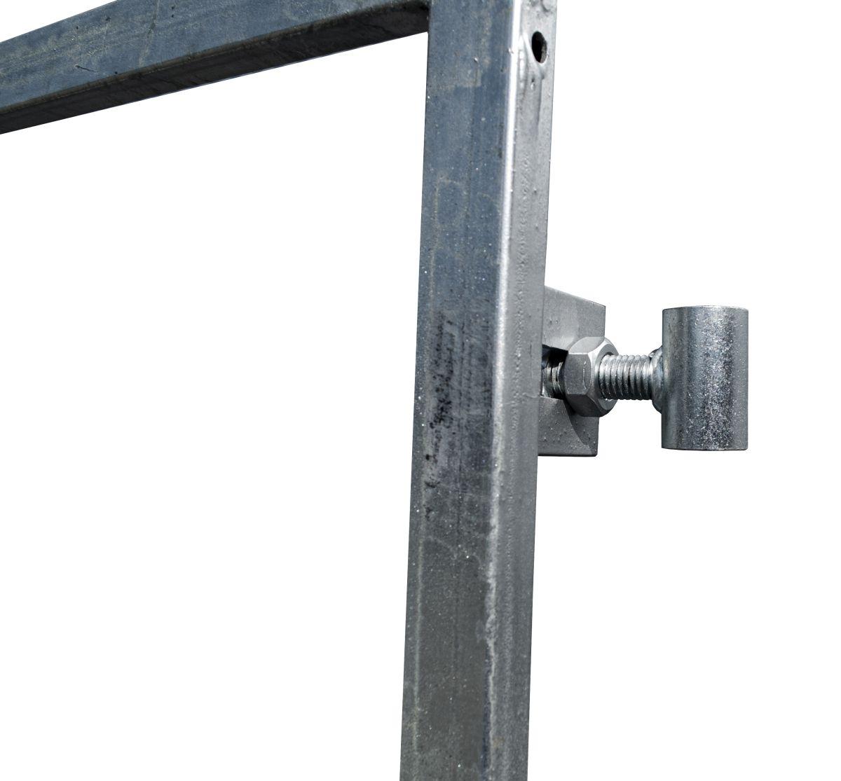 21135182 poortframe met slotkast en garnituur verstelbaar universeel h180xb100 cm 2