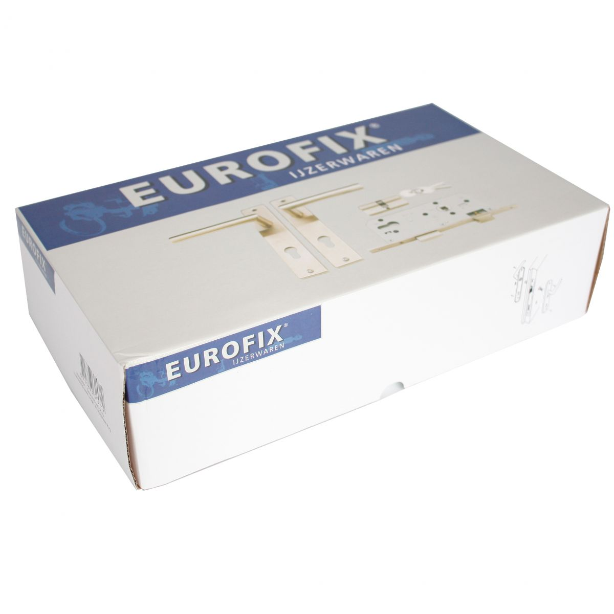 deurslot set rvs eurofix recht 25040451 doos