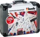 Gereedschapskoffer 129-delig KWB