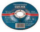CUT-FIX® Doorslijpschijven metaal 115x3x22 MM