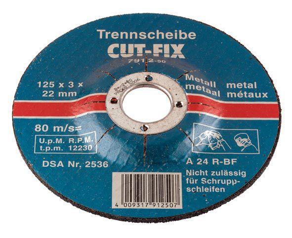cutfix trennscheiben metallbearbeitung 178 x 3 x 22 mm